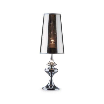 Stolové svietidlo ALFIERE TL1 SMALL v chrómovej farbe | Ideal Lux