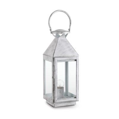 Vintage stolová lampa MERMAID TL1 SMALL v antickej bielej farbe | Ideal Lux