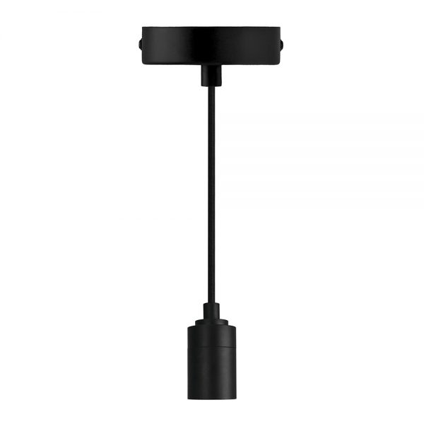 Moderné závesné svietidlo ELEGANCE v čiernej farbe | Daylight Italia