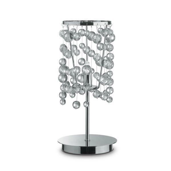 Stolná lampa NEVE TL1 v chrómovej farbe   Ideal Lux