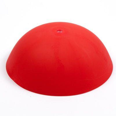 Stropná krytka káblov pre závesné svietidlo - Cable Cup® v červenej farbe