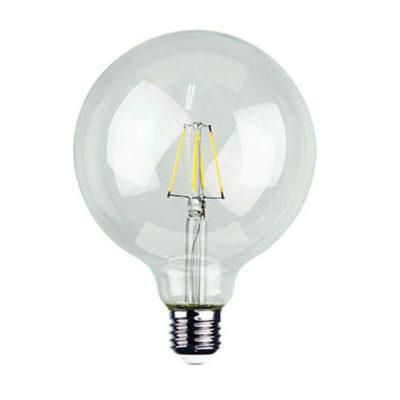 Priehľadná-LED-žiarovka-G125-4W-E27-400lm-Teplá-biela-Daylight-Italia