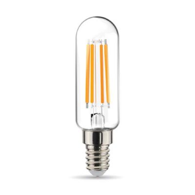 Rúrková LED Žiarovka - E14, 4.5W, 470lm, Teplá biela, Stmievateľná | Daylight Italia