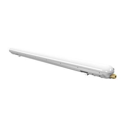 Pracovné stropné a nástenné svietidlo vhodné pre vonkajšiu inštaláciu, 48W, 4500K, 4000lm, 150cm