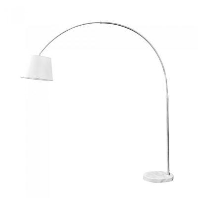 Stojacia lampa BIG, mramor slonovinová farba
