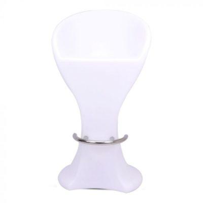 Barová stolička do exteriéru, RGB LED, IP54, 50 x 56 x 110cm, nabíjatelný s diaľkovým ovládaním