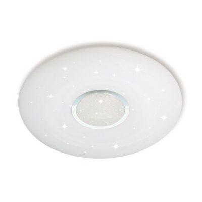 LED stropné kruhové svietidlo 40W, Stmievateľné, 3 farby, diaľkové ovládanie, 40cm, 2800lm, Stary