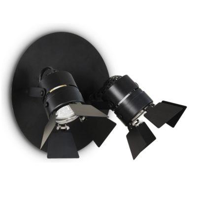 Stropné a nástenné svietidlo Ciak AP2 Nero