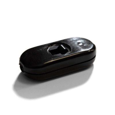 Unipolárny posuvný prepínač čierny v špeciálnom dizajne