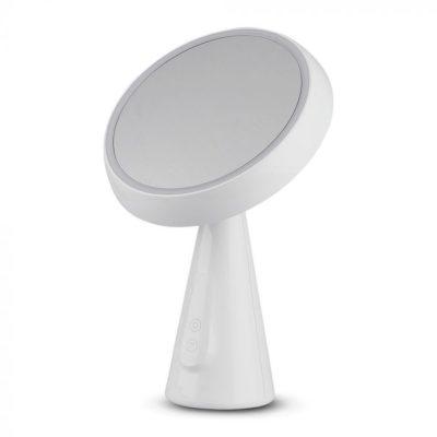 LED stolová lampa so zrkadlom 5W, 2v1, 3000K, 200lm