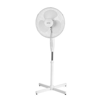 Stojanový Ventilátor ETAC, 110-125cm, 45W, Biela farba