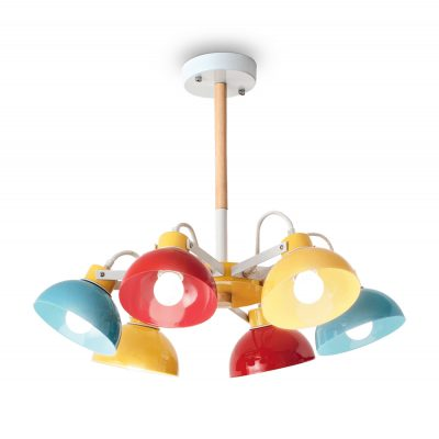 Závesné farebné detské svietidlo TITTI PL6 | Ideal Lux