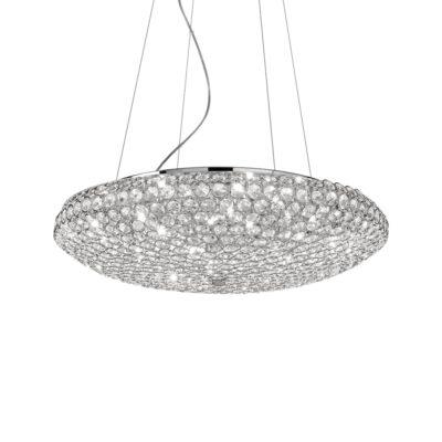 Elegantný sklenený luster KING SP12 | Ideal Lux