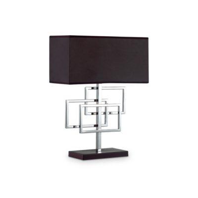 Moderná stolová lampa v chrómovej úprave LUXURY TL1 | Ideal Lux