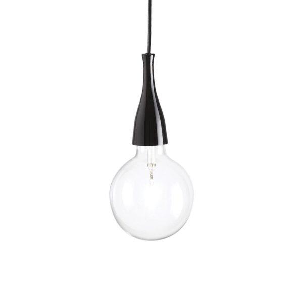 Moderné štýlové svietidlo v čiernej farbe MINIMAL SP1   Ideal Lux