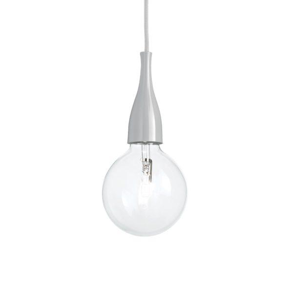 Moderné štýlové svietidlo v šedej farbe MINIMAL SP1   Ideal Lux