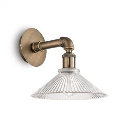 Nástenná lampa s dekoračným skleneným tienidlom ASTRID AP1 BRUNITO | Ideal Lux