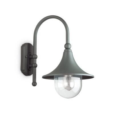 Nástenné vonkajšie svietidlo v antracitovej farbe IP43, CIMA AP1 | Ideal Lux