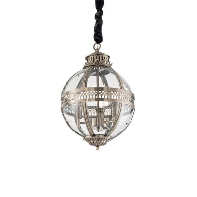 Sklenené svietidlo s dymovým tienidlom BLOSSOM SP1 FUMÈ   Ideal Lux