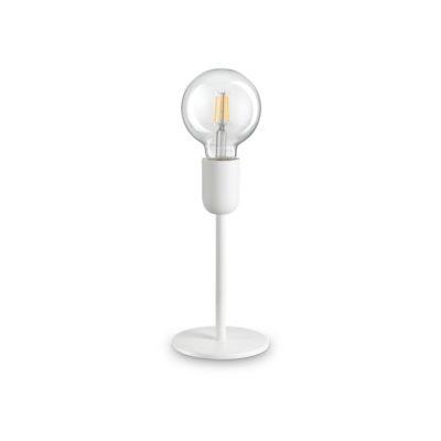 Stolová moderná lampa v bielej farbe MICROPHONE TL1 | Ideal Lux