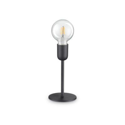 Stolová moderná lampa v čiernej farbe MICROPHONE TL1 | Ideal Lux