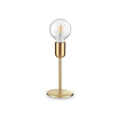 Stolová moderná lampa v mosádznej farbe MICROPHONE TL1 | Ideal Lux