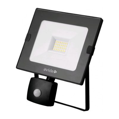 20W SLIM LED reflektor so senzorom, 1610lm, Studená biela.