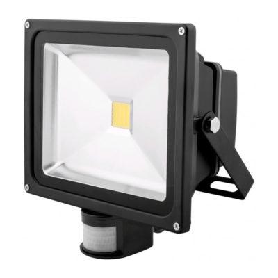 30W LED reflektor so senzorom, 2700lm, Denná biela