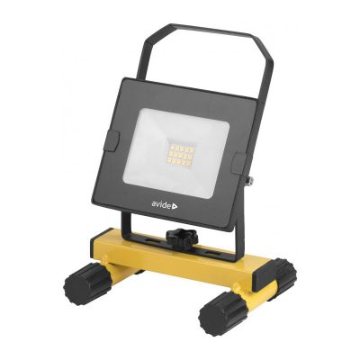LED SLIM Reflektor so stojanom, Denná biela, 10W, 800 lm