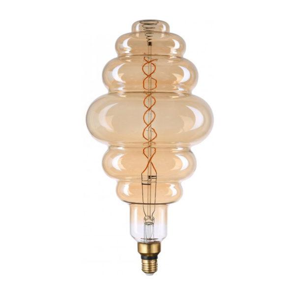 Filament LED žiarovka Bixby, E27, 8W, 500lm, Stmievateľná, Teplá biela   Avide
