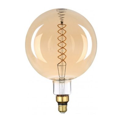 Filament LED žiarovka Nowra, E27, 8W, 500lm, Stmievateľná, Teplá biela | Avide