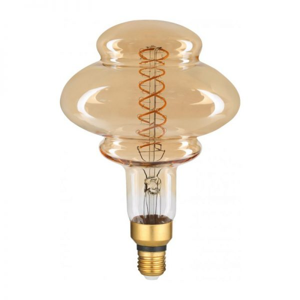 Filament LED žiarovka Pearl, E27, 8W, 500lm, Stmievateľná, Teplá biela | Avide