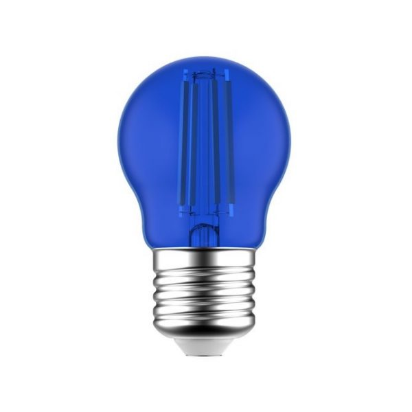 LED žiarovka Globetta E27, 1.4W, 13lm, Modrá | Daylight Italia