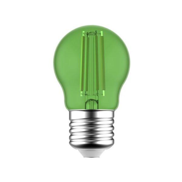 LED žiarovka Globetta E27, 1.4W, 75lm, Zelená | Daylight Italia