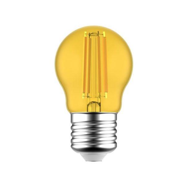 LED žiarovka Globetta E27, 1.4W, 80lm, Žltá   Daylight Italia
