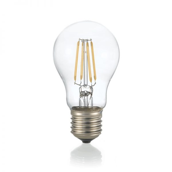 LED Filament žiarovka GOCCIA, E27, 4W, 430lm, 3000K, Teplá biela   Ideal Lux