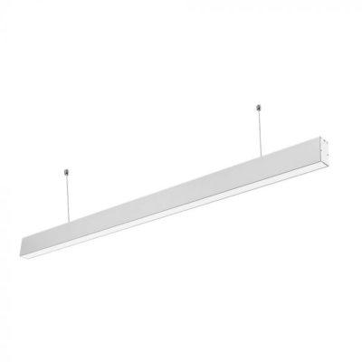 Pracovné svietidlo - Závesné lineárne svietidlo LED PRO Slim 40W, 6400K, 3200lm, biela farba