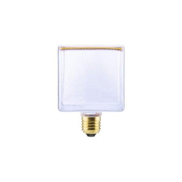 Umelecká LED ART žiarovka - CUBE , E27, 8W, 2200K, 380lm