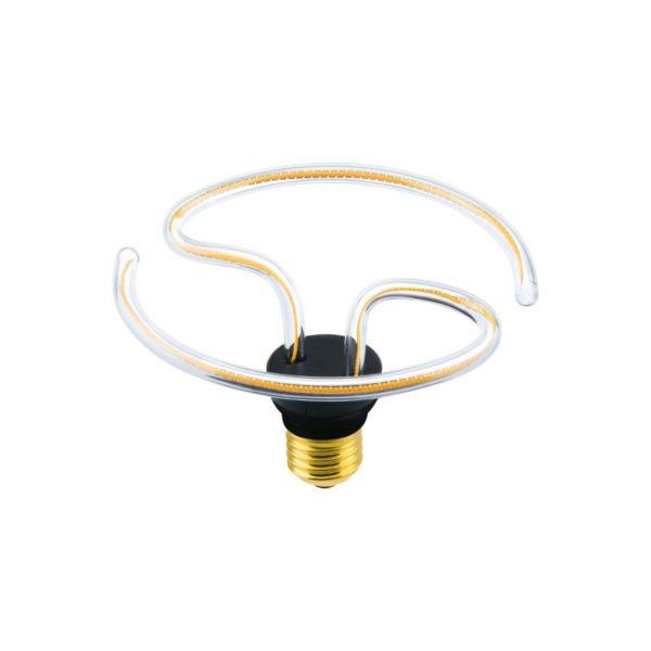 Umelecká LED ART žiarovka - TAI CHI , E27, 10W, 2200K, 500lm