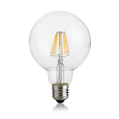 Žiarovka Filament GLOBUS, E27, 8W, 860lm, 3000K, Teplá biela | Ideal Lux