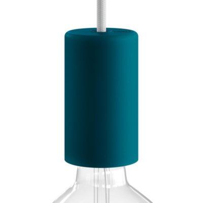 Exteriérová objímka so silikónovým elegantným krytom v tmavo tyrkysovej farbe