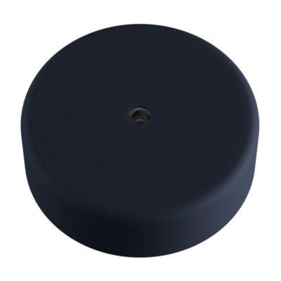 Exteriérová stropný držiak z mäkkého silikónu s krytím IP65 v karbónovej čiernej farbe
