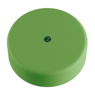 Exteriérový stropný držiak z mäkkého silikónu s krytím IP65 v pastelovej zelenej farbe