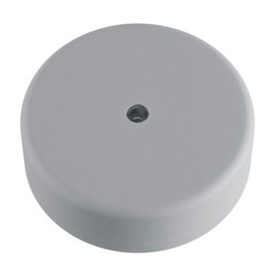 Exteriérová stropný držiak z mäkkého silikónu s krytím IP65 v sivej farbe