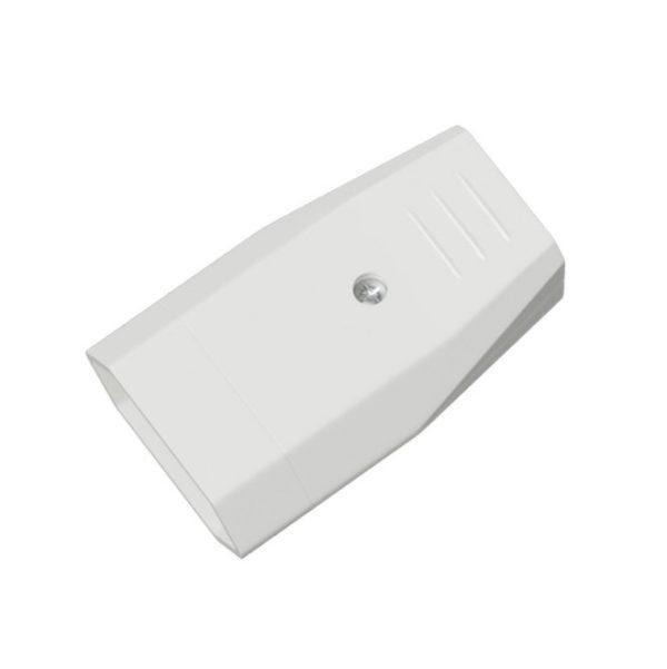 Dvoj pólová zásuvka, SK štandard, termoplast, IP20, 10A, biela farba