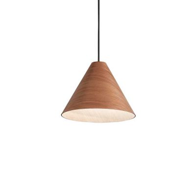 Drevené svietidlo v modernom dizajne KAURI SP1 DARK | Ideal Lux