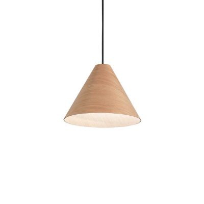 Drevené svietidlo v modernom dizajne KAURI SP1 LIGHT | Ideal Lux
