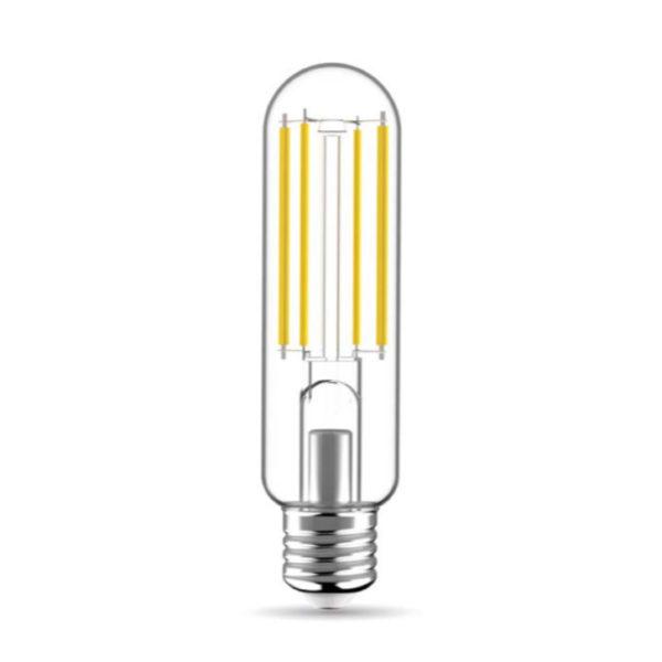 Priehľadná LED žiarovka - T38, 14W, E27, 2350lm, 3000K   Daylight Italia