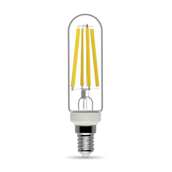 Rúrková LED Žiarovka - E14, 8.5W, 1250lm, Teplá biela, Stmievateľná   Daylight Italia