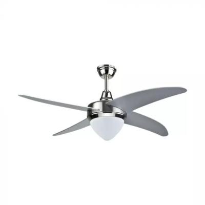 Stropný LED ventilátor 60W, 5 lopatiek s 15W LED žiarovkou, 3v1 zmena farby
